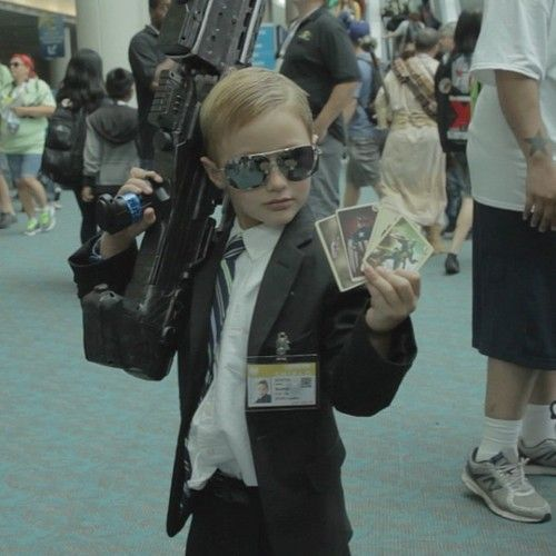 This kid cosplayed as Phil Coulson at 2013 comic con....
