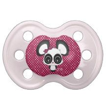 Kazue the panda BooginHead pacifier