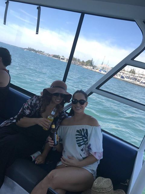 Another great group , 2 boats 24 people from Mai-stylez sports club out in our magnificent back yard #sports #goldcoastbbqboats #hireboatsgoldcoast #funinthesun #gcpartypontoons http://goldcoastpartypontoons.com.au/