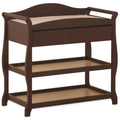 Storkcraft Aspen Changing Table In Cherry – Products