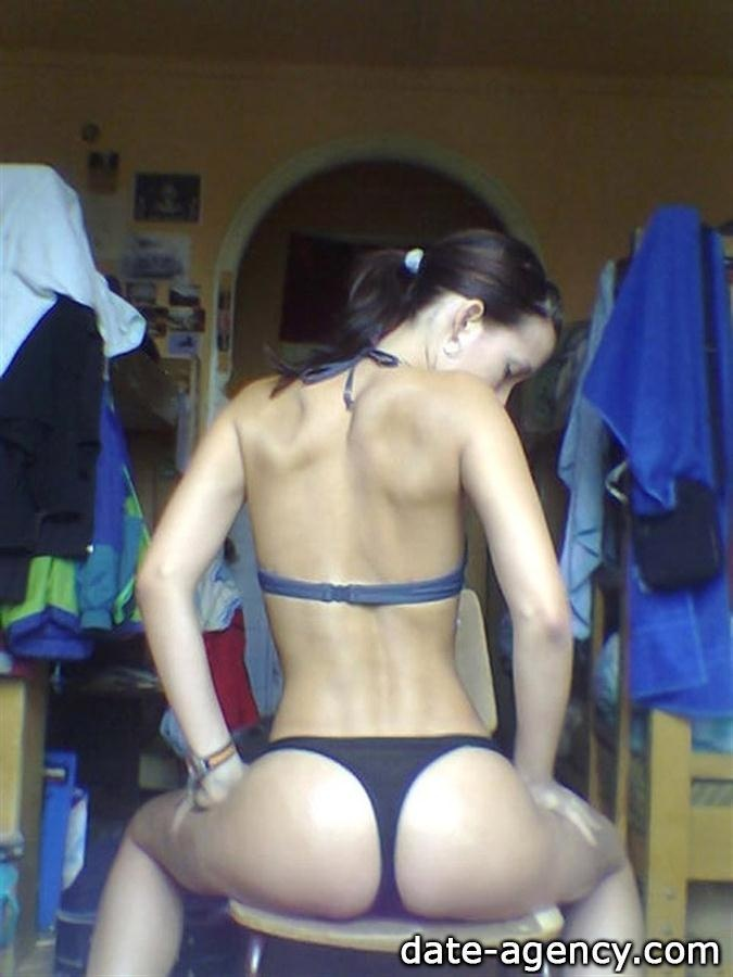interested Pose nude video butt with roomates. slave and
