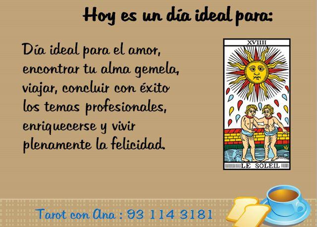 Ana Tarot: HOY ES UN DIA IDEAL PARA.... #tarot  # tarotista profesional #aprende tarot gratis #tarot particular