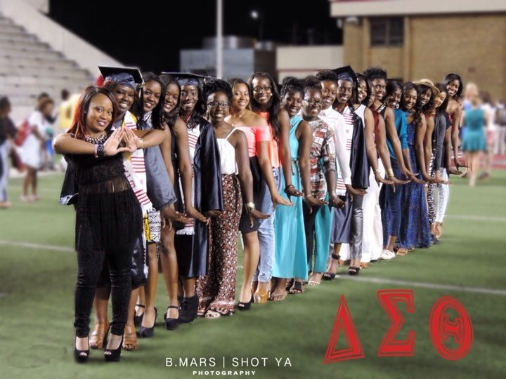 Being a part of a  Fraternity or Sorority means having a huge support system! Delta Sigma Theta at Jacksonville State University showed that by supporting their graduating sisters! Congrats ladies! For more information please visit http://www.jsu.edu/studentlife/greek/nphc.html