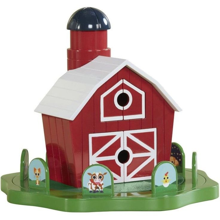 Educational Toddler Toy 2-4 Years Peekaboo Barn Learning Gift Play #easy_shopping08
