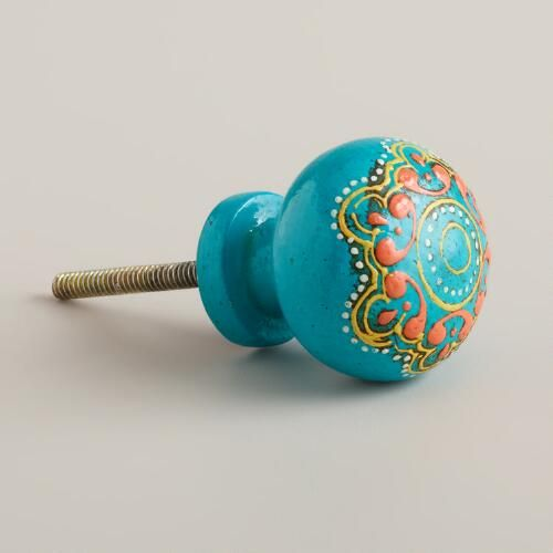 Best 25 turquoise painted furniture ideas on pinterest for Turquoise door knobs