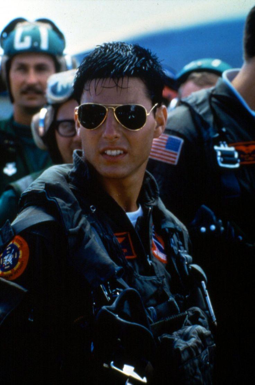 Pete 'Maverick' Mitchell (Tom Cruise) in Top Gun (1986)