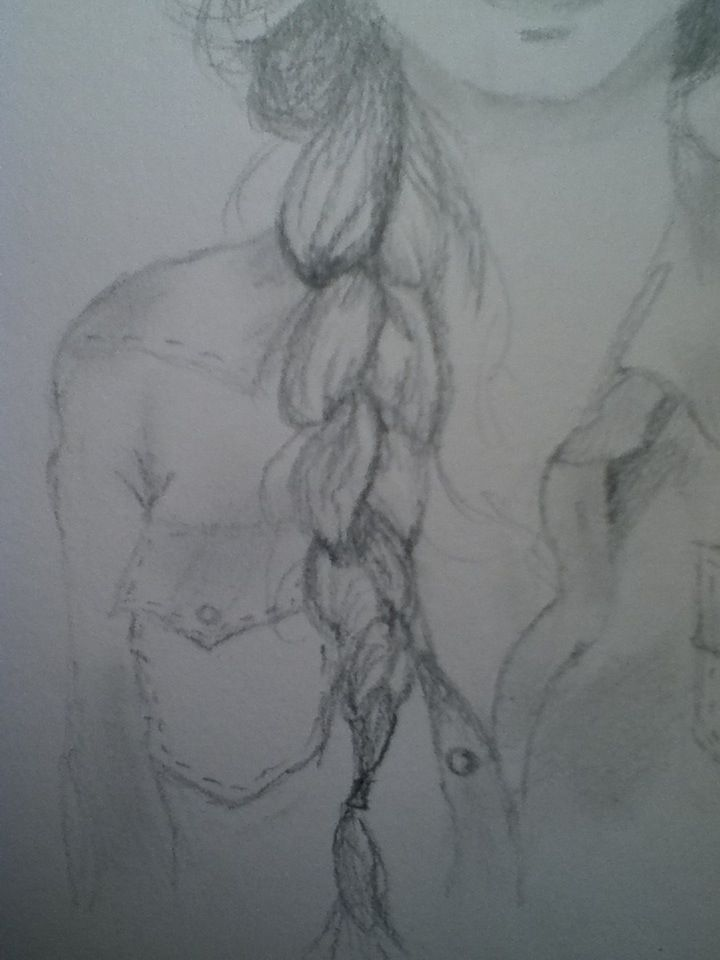 How to Draw a Braid. Could come in handy considering my English teacher makes us draw a bunch.