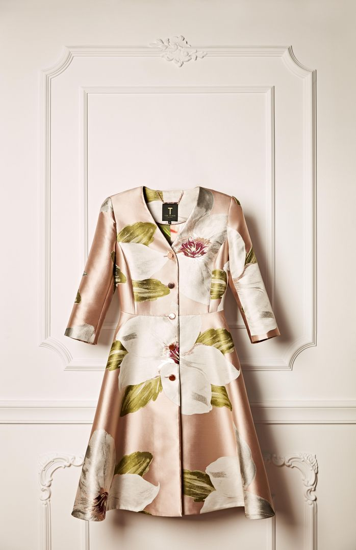 25c8cf781 Ted Baker OTTIE Chatsworth bloom print dress coat