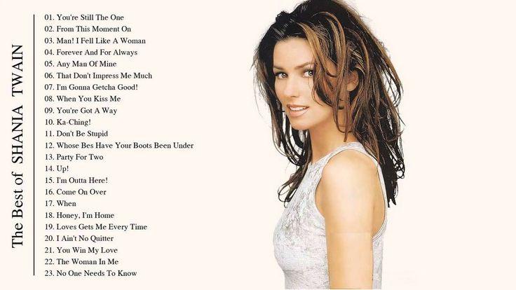 Shania Twain Greatest Hits - Shania Twain Playlist (HD/HQ)