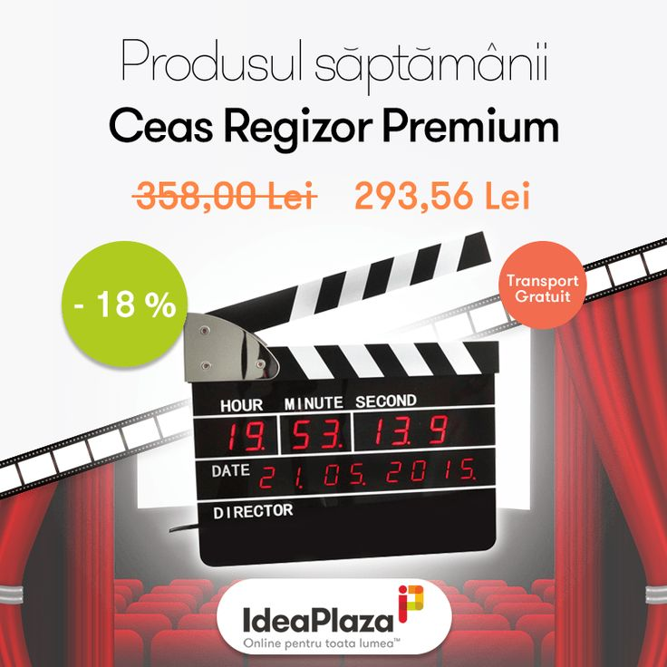 Produsul saptamanii la reducere (-18%):  #Ceas #Regizor Premium --- https://goo.gl/rks3mH