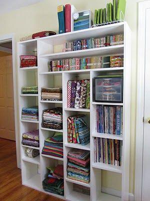 Fabric organization #sewing #quilting #organization