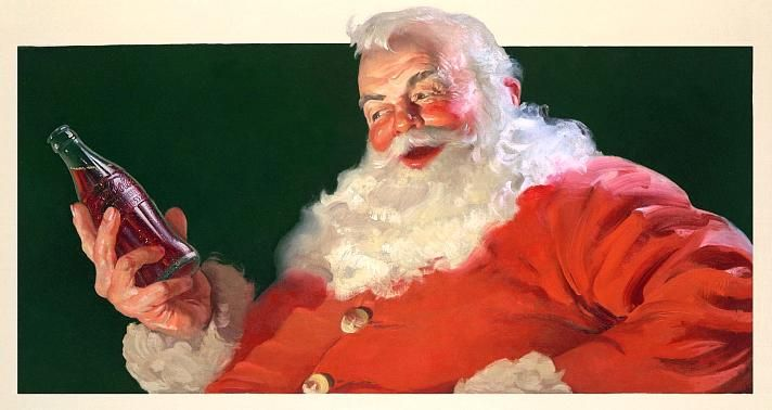 Santa Claus, as we know him – wearing red and white – was invented by Coca Cola. Before Coca-Cola dressed Santa in red,the real Santa Claus lived in Demre-Antalya.