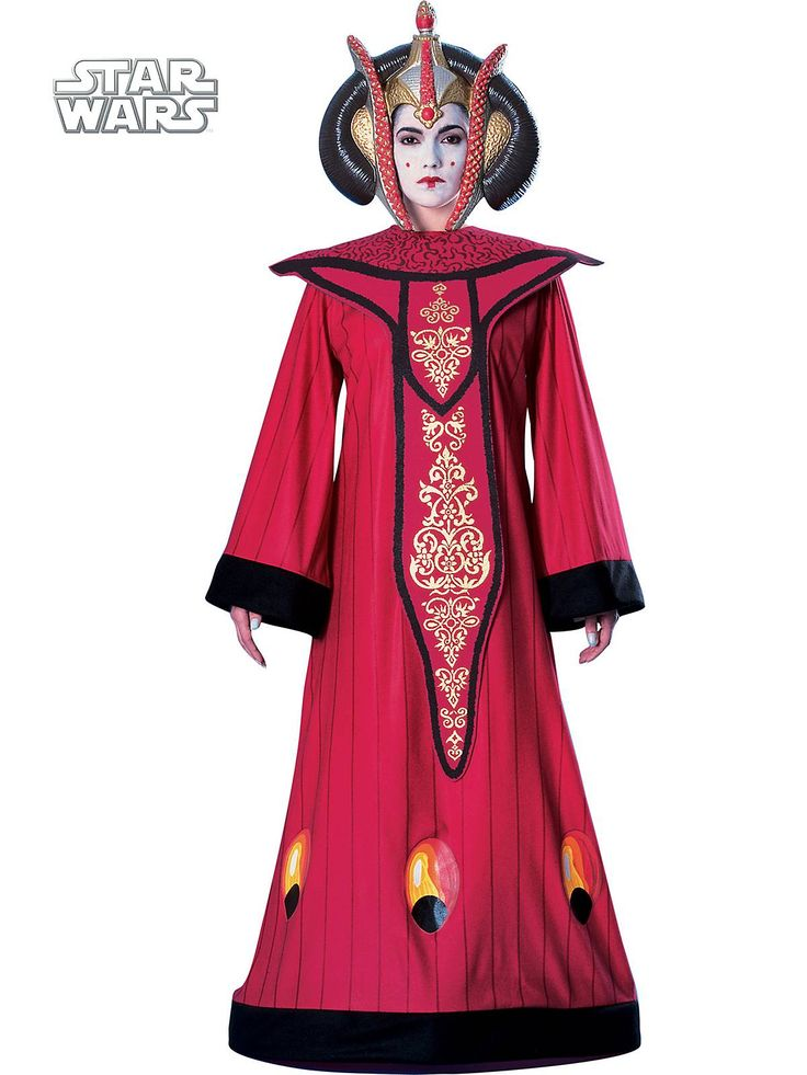 Women's Deluxe Queen Amidala Costume Costume | Wholesale Star Wars Costumes for Kids And Adults