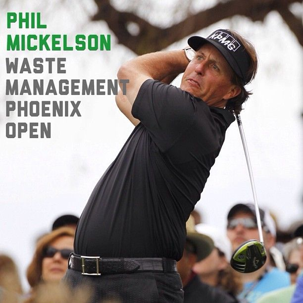 It was all the Phil Mickelson show at the 2013 Waste Management Phoenix Open.