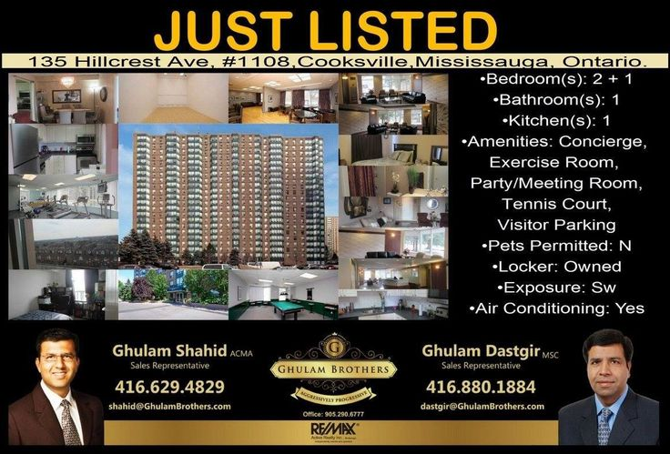 Condominium for Sale In Cooksville,Mississauga. For Showing Please Call (416)-629-4829 & (416)-880-1884
