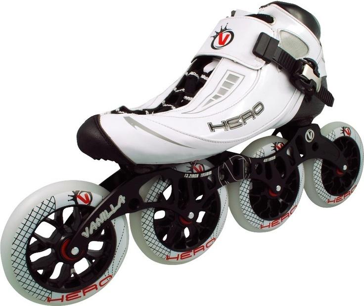 Vanilla Hero Inline Speed Skates Closeout pricing http://www.buyskatesonline.com/