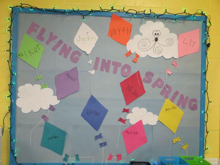 Spring Classroom Idea : Spring bulletin board miss lisa s room pinterest