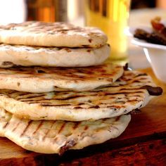 An easy home-made South African flat bread perfect for a celebratory #braai.