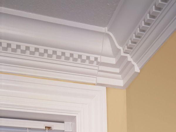 Miterless System Dentil Molding And Inside Corner