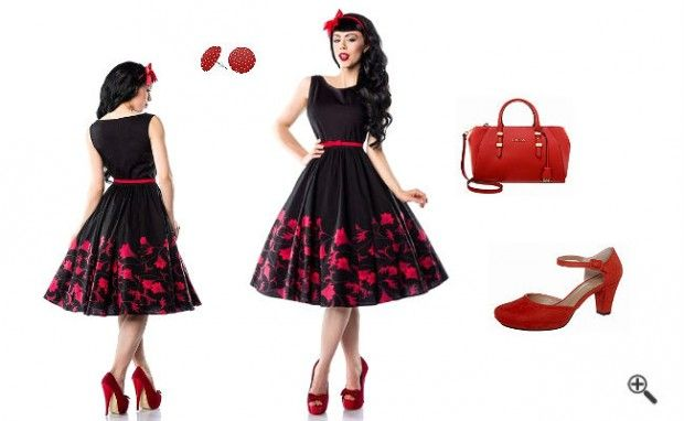 Petticoat Kleid 50er + 3 Rockabilly Outfit Tipps für... http://www.fancybeast.de/petticoat-kleid-50er/ #Petticoat #50er #Kleider #Rockabilly #Outfit #Dress #60er Petticoat Kleid 50er Rockabilly Outfit Tipps