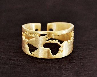Travel Ring / Gift for Women / Wanderlust / Father's day