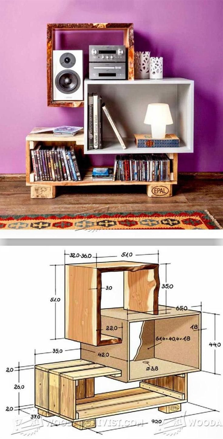 DIY Media Console - Furniture Plans and Projects | WoodArchivist.com