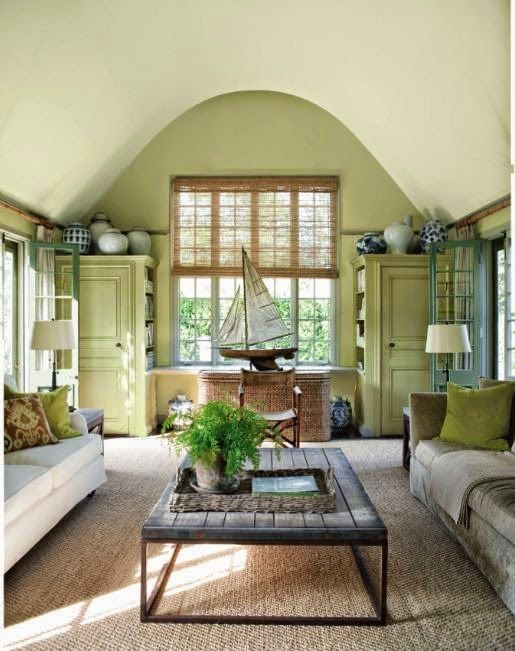 Guilford Green HC-116. Benjamin Moore 2015 Colour of the year.