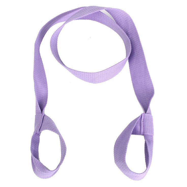 Fitness Elastic Yoga Pilates Mat Sling Strap Exercise Stretch Adjustable Belts For Sports Gym Excerise