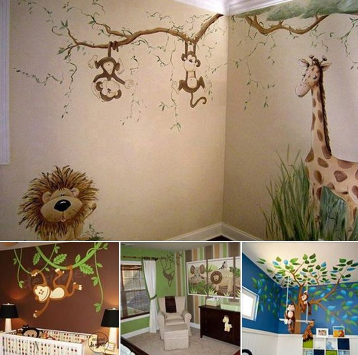 Fun Jungle Wall Decal for Kids of All Ages