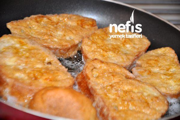 Kahvaltılık Yumurtalı Ekmek...♥ Deniz ♥