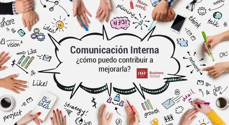 La comunicación inerna sirve además a la organización para tener una buena identidad desde dentro para construir una buena imagen hacia fuera.