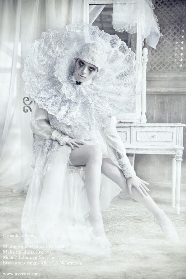 Dracula's Bride by Photographer Nava Monde