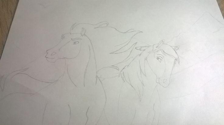 [Pl] Mustang z dzikiej doliny                      [Eng] Stallion of the Cimarron