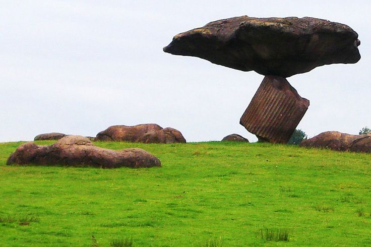 Zwevende steen bij Dalfsen (Ov.)