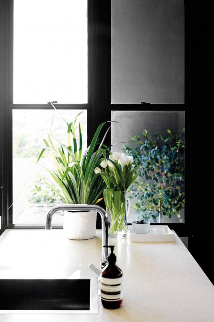 Black-frame-window-kitchen