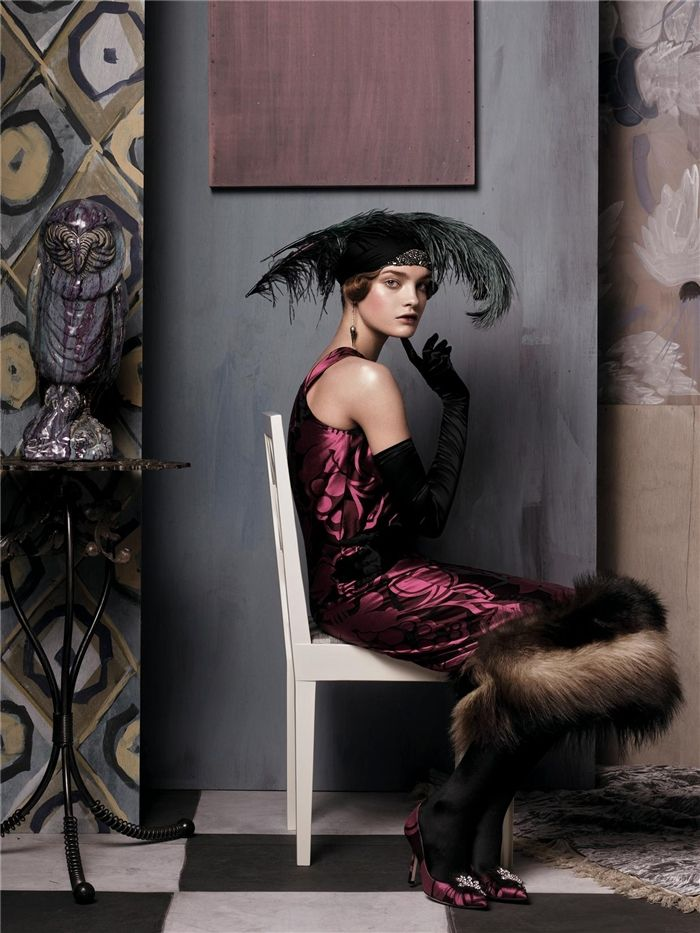 """Natalia Vodianova in """"Fashioning The Century"""" By Steven Meisel For Vogue US, May 2007"""
