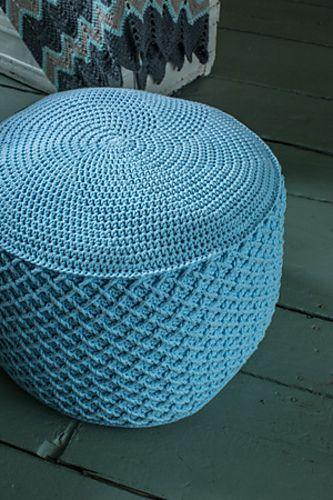 78 Best Images About Crochet Pouf Patterns On Pinterest