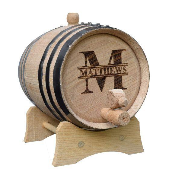 Mini Oak Whiskey Barrel Keg Custom Whisky by MyPersonalMemories