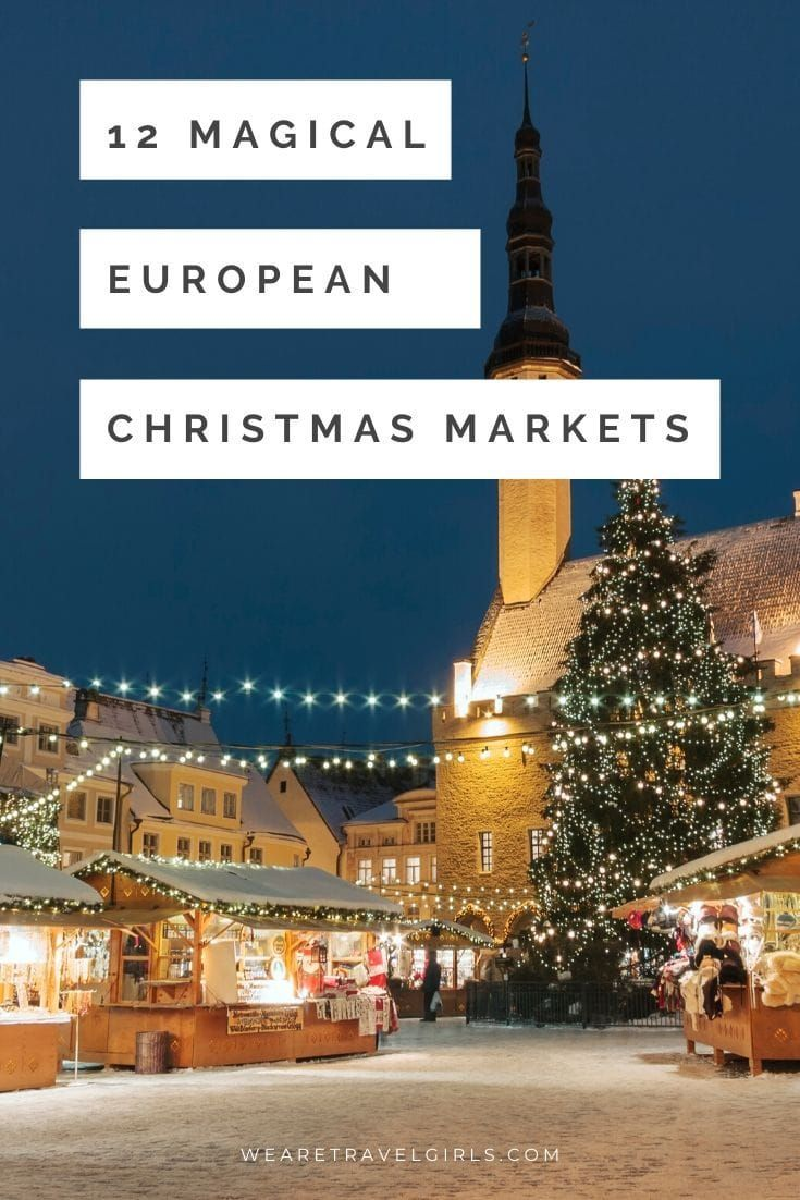 12 Best European Christmas Markets [2020] | We Are Travel Girls