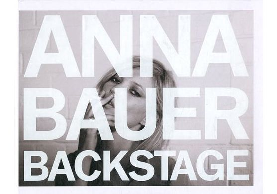 Anna Bauer Backstage via Discoveredd