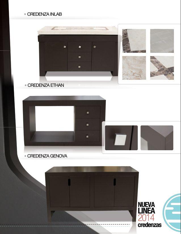 Credenzas y bufeteras inlab muebles comedor pinterest for Furniture of america danbury modern