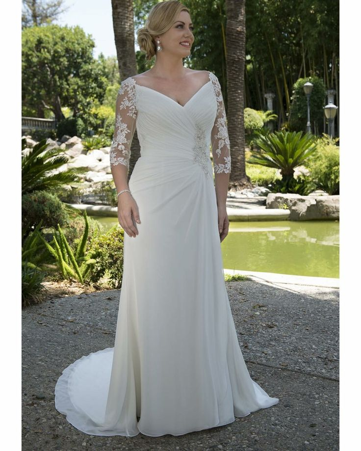Elegant plus size wedding gowns can be made to order for brides with any design preferences a bride needs. We make custom #plussizeweddingdresses that are affordable. Inexpensive #replicaweddingdresses can also be made. Get more info on custom #weddingdresses that are in a great price range at www.dariuscordell.com/