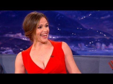 Jennifer Garner Interview Pt. 2 10/03/12 - CONAN on TBS I love how Jennifer Garner shows her pride in being a West Virginian. Inspiring!