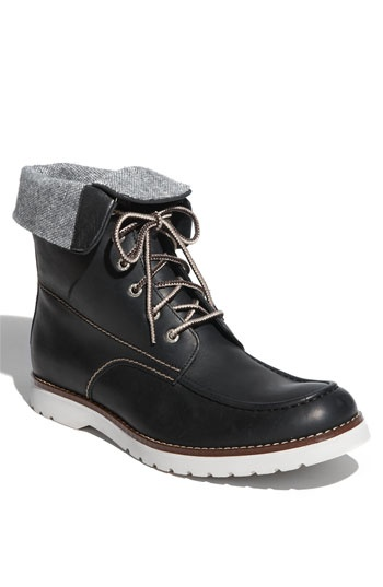 Lumberjack boots with a twist. I'm kind of swooning over these. . .