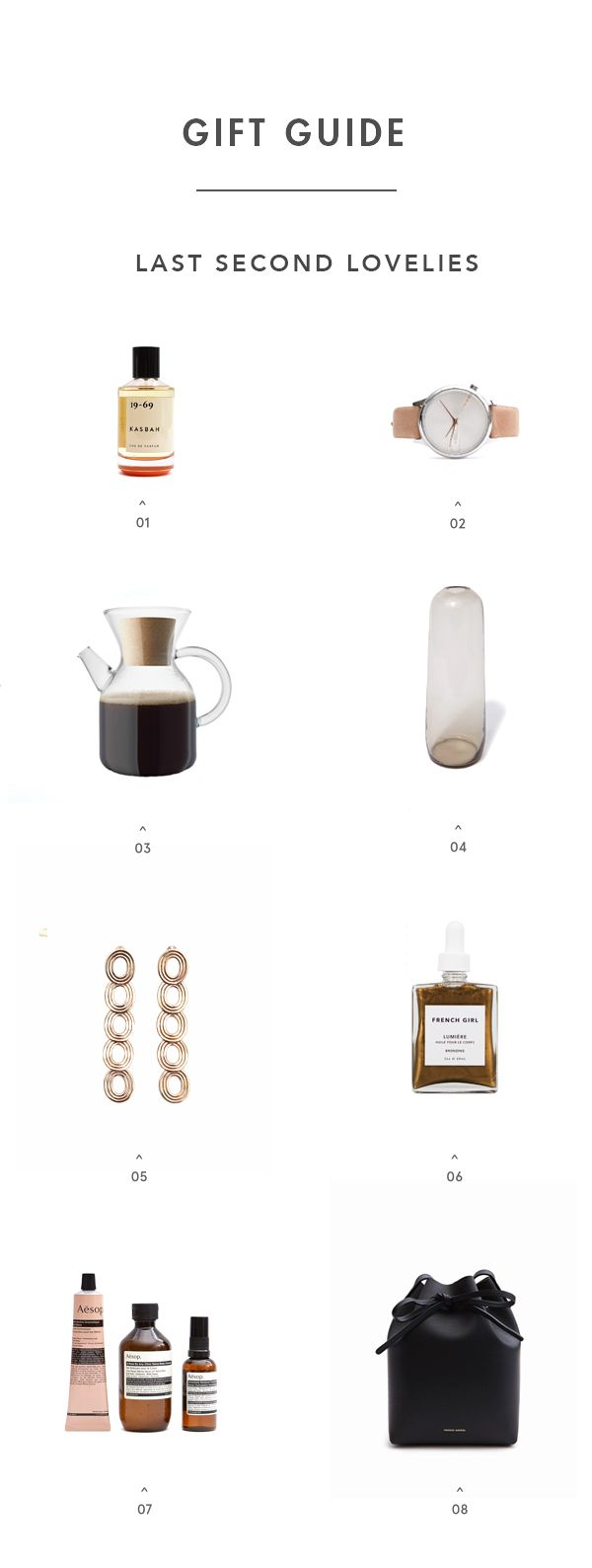 Last Second Gift Guide: For All You Procrastinators - Apartment34