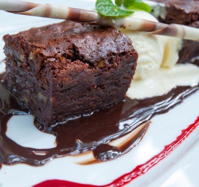 Hrnkové čokoládové brownies
