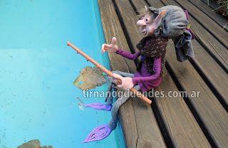 Duende pescador http://tirnanogduendes.blogspot.com.ar/