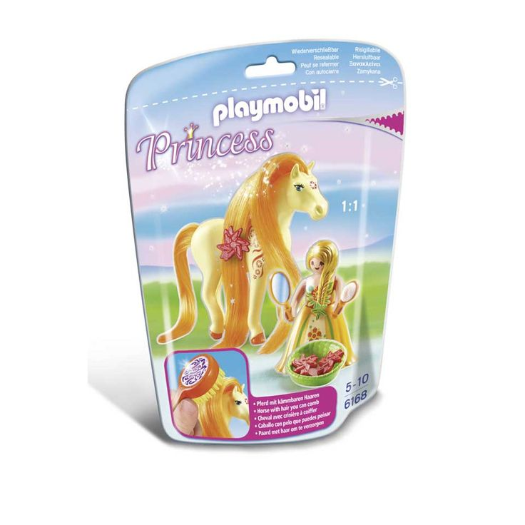 Playmobil Prinses Sunny met paard om te verzorgen 6168