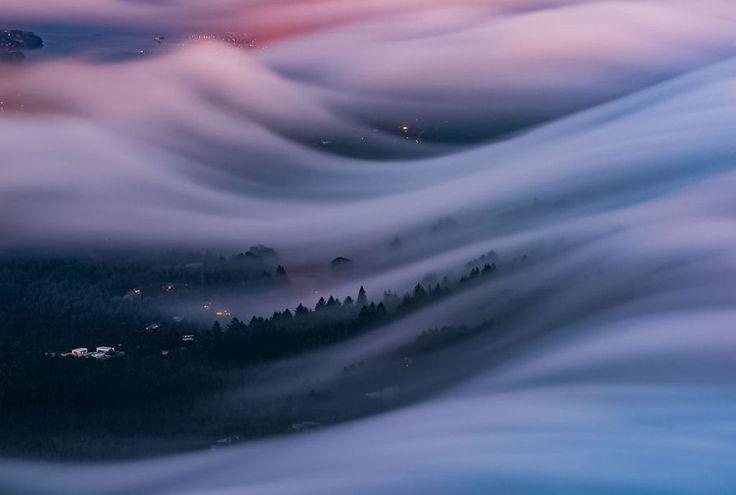 As oníricas ondas de nevoeiro registradas pelo fotógrafo Nick Steinberg 05