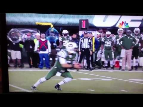 Worst Fumble? - NY Jets vs. Patriots (Mark Sanchez)